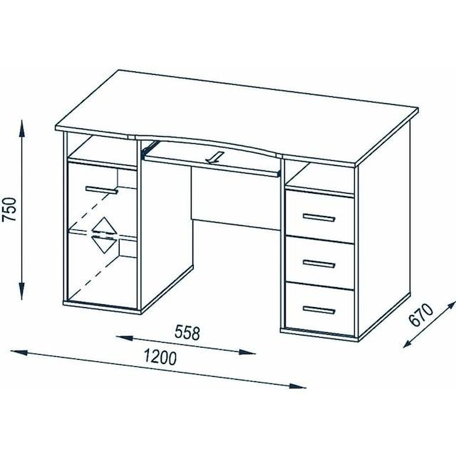 Maja Möbel Schreibtisch »4029«