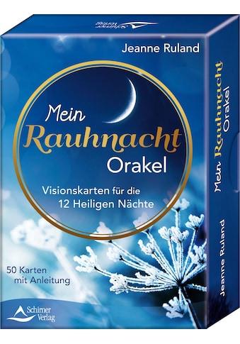 Buch »Mein Rauhnacht-Orakel / Jeanne Ruland« kaufen