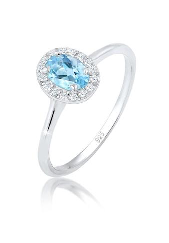 Elli Diamantring »Verlobungsring Topas Diamant (0.08 ct.) 925 Silber« kaufen