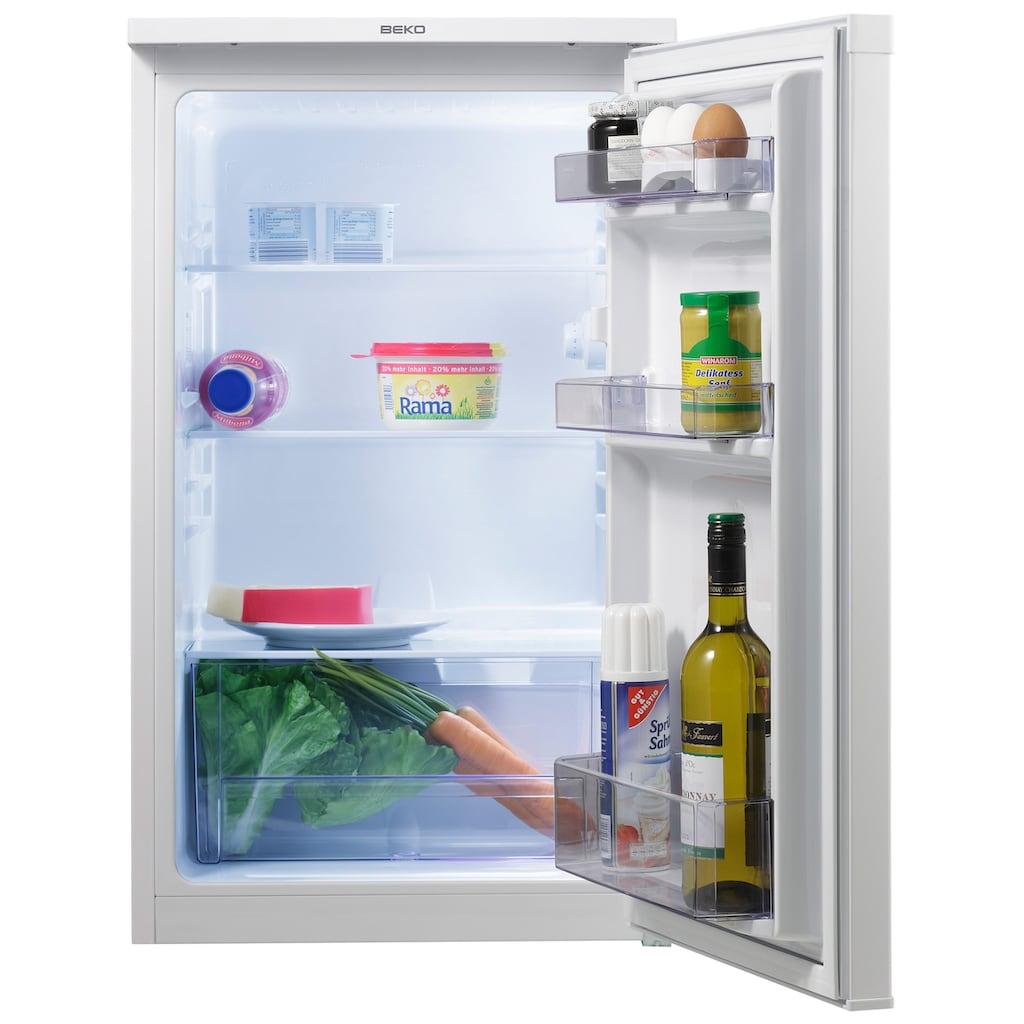 BEKO Table Top Kühlschrank, TS190020, 81,8 cm hoch, 47,5 cm breit, 82 cm hoch