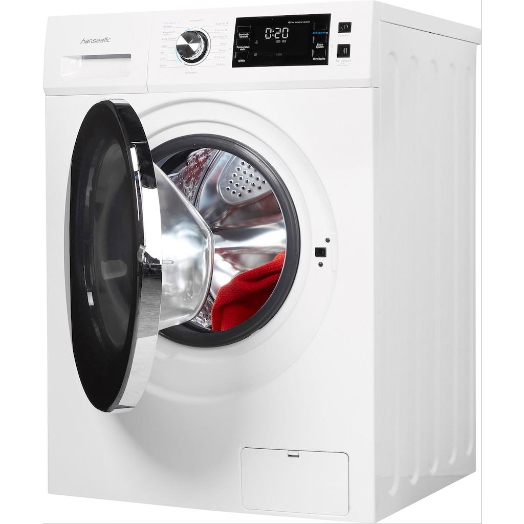 Hanseatic Waschmaschine »HWMB814B«, HWMB814B, 8 kg, 1400 U/min