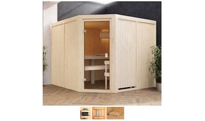Karibu Sauna »Evka«, ohne Ofen kaufen