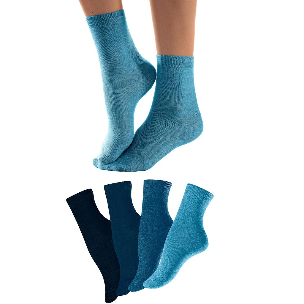 Lavana Socken, (4 Paar), in unterschiedlichen Farbzusammenstellungen