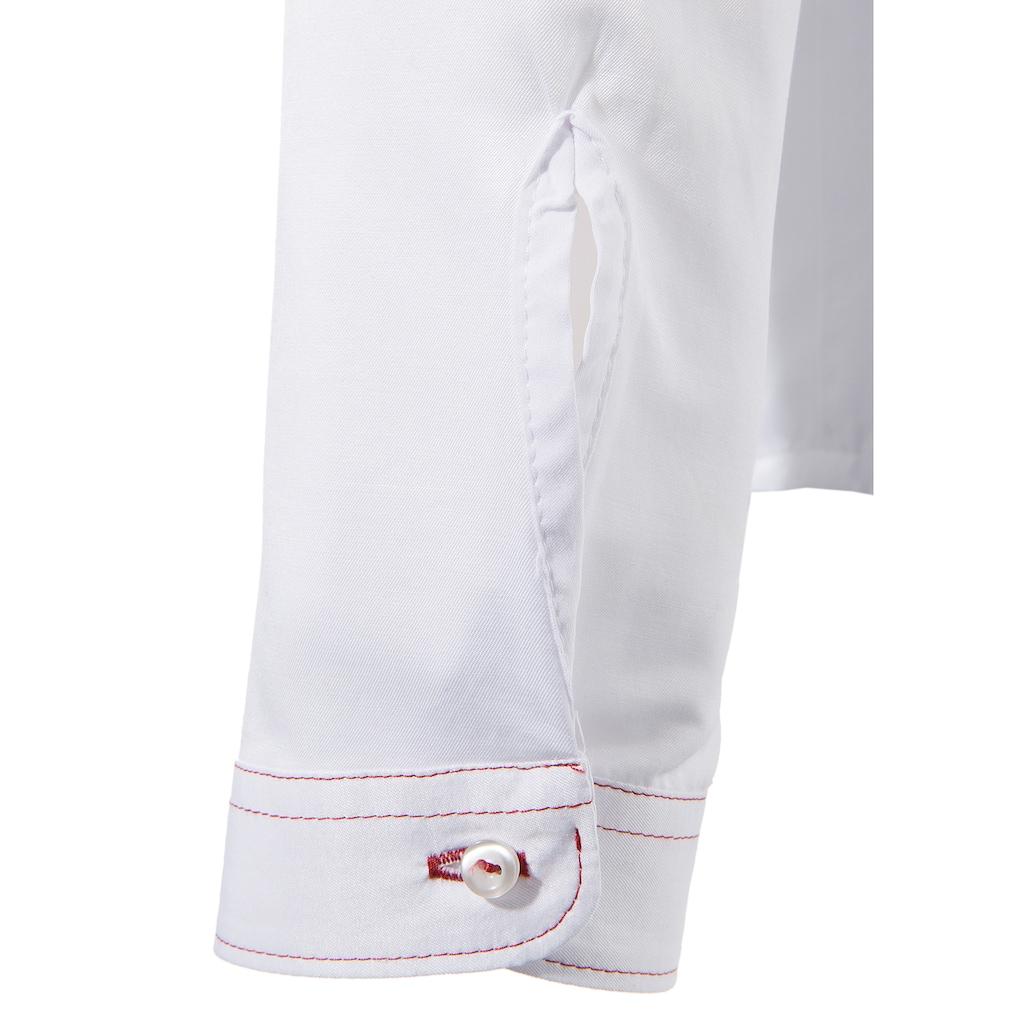 OS-Trachten Trachtenbluse Damen in taillierter Form