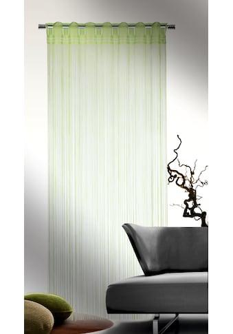 WILLKOMMEN ZUHAUSE by ALBANI GROUP Fadenvorhang »Fadenstore«, Fadenvorhang kaufen