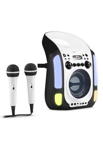 Auna Kinder Karaoke Anlage CD USB MP3 LED-Lichtshow Mikrofone kaufen