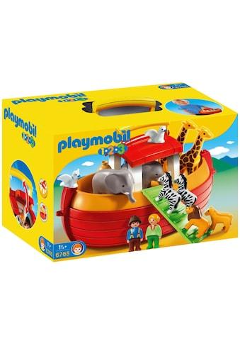 "Playmobil® Konstruktions - Spielset ""Meine Mitnehm - Arche Noah (6765), Playmobil 1 - 2 - 3"", Kunststoff kaufen"