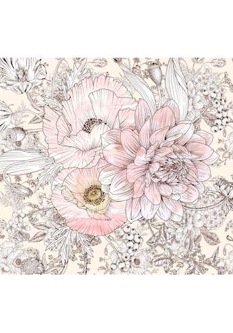 Komar Fototapete »Vliestapete Allegra«, bedruckt-geblümt-floral-realistisch, 300 x 280 cm kaufen