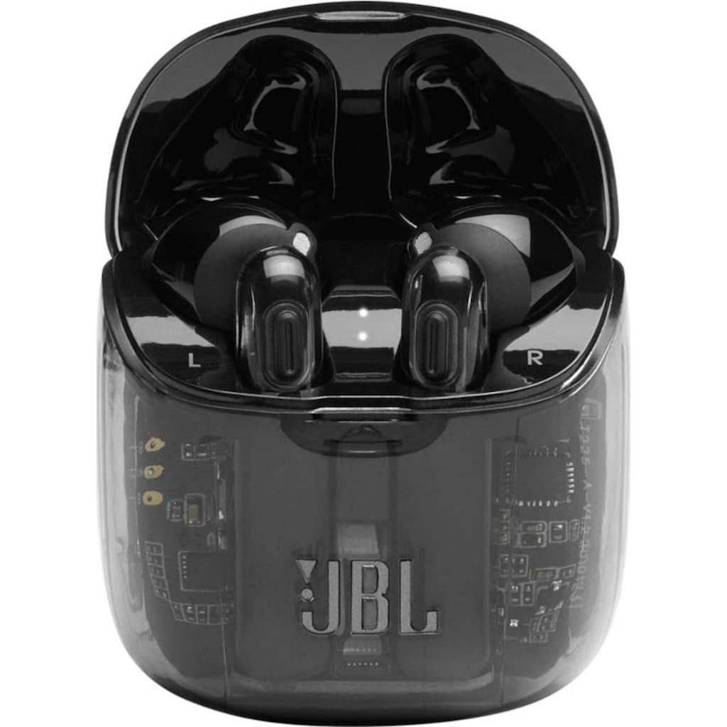 JBL wireless In-Ear-Kopfhörer »TUNE 225 TWS«, AVRCP Bluetooth-Bluetooth, True Wireless-Sprachsteuerung-Freisprechfunktion, Ghost-Edition