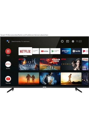 "TCL LED-Fernseher »50P616X1«, 126 cm/50 "", 4K Ultra HD, Smart-TV, Android 9.0 Betriebssystem kaufen"