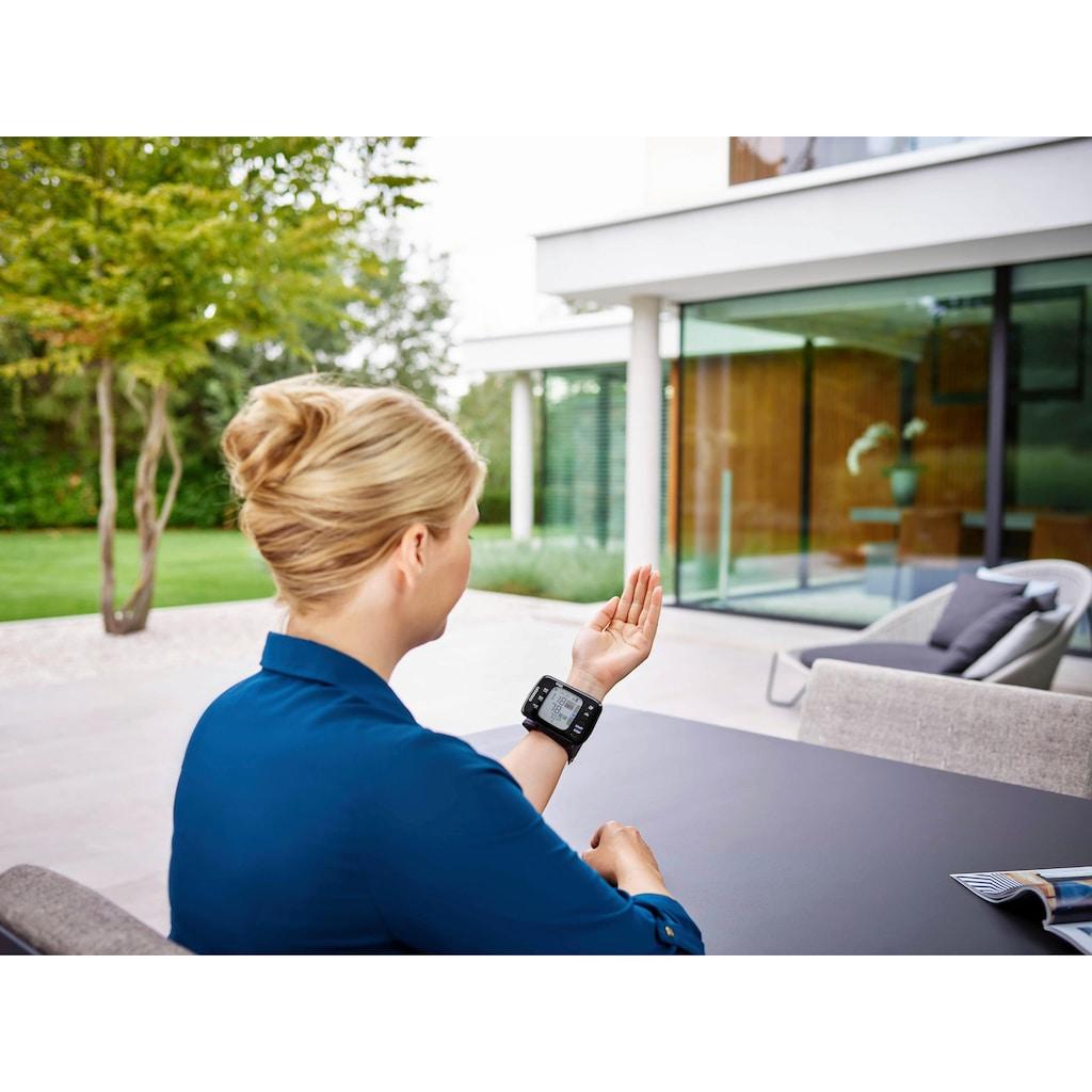 Omron Handgelenk-Blutdruckmessgerät »RS7 Intelli IT (HEM-6232T-D)«, mit LED Positionierungssensor und Bluetooth-Funktion für zu Hause und unterwegs