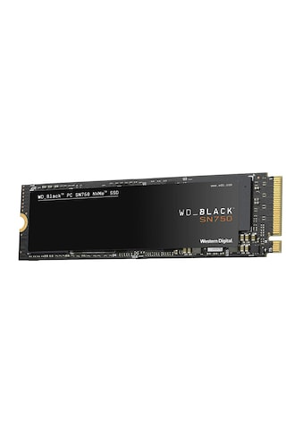 Western Digital SSD »Innovative NVMe SSD-Performance«, WD BLACK SN750 NVMe SSD kaufen