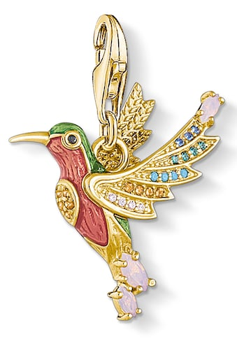 THOMAS SABO Charm-Einhänger »Bunter Kolibri gold, 1828-974-7«, mit Emaille,... kaufen