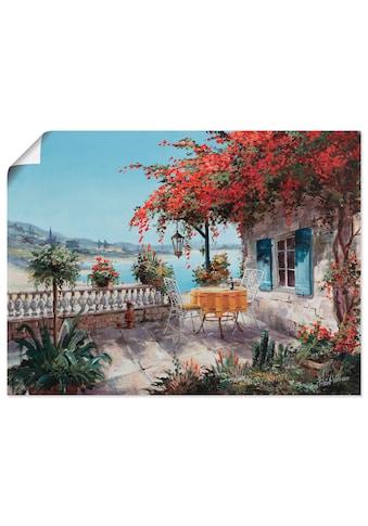 Artland Wandbild »Jeder Traum«, Garten, (1 St.), in vielen Größen & Produktarten... kaufen