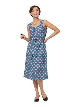 65d6b69cd6c3 Classic Basics Kleid mit ansprechendem Blütendessin kaufen