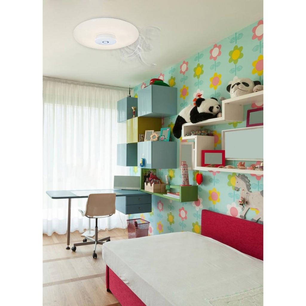 näve LED Deckenleuchte »MODENA«, LED-Board, Kaltweiß-Warmweiß, mit Rauchmelder