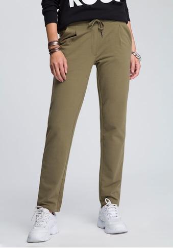 KangaROOS Jogger Pants, mit modischen Riegeln am Bund kaufen