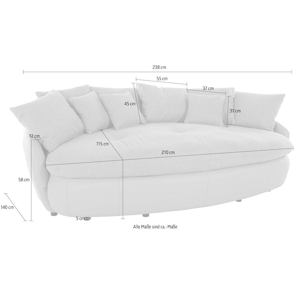 INOSIGN Big-Sofa »Amaru«, grosszügiges, gemütliches Megasofa XXL