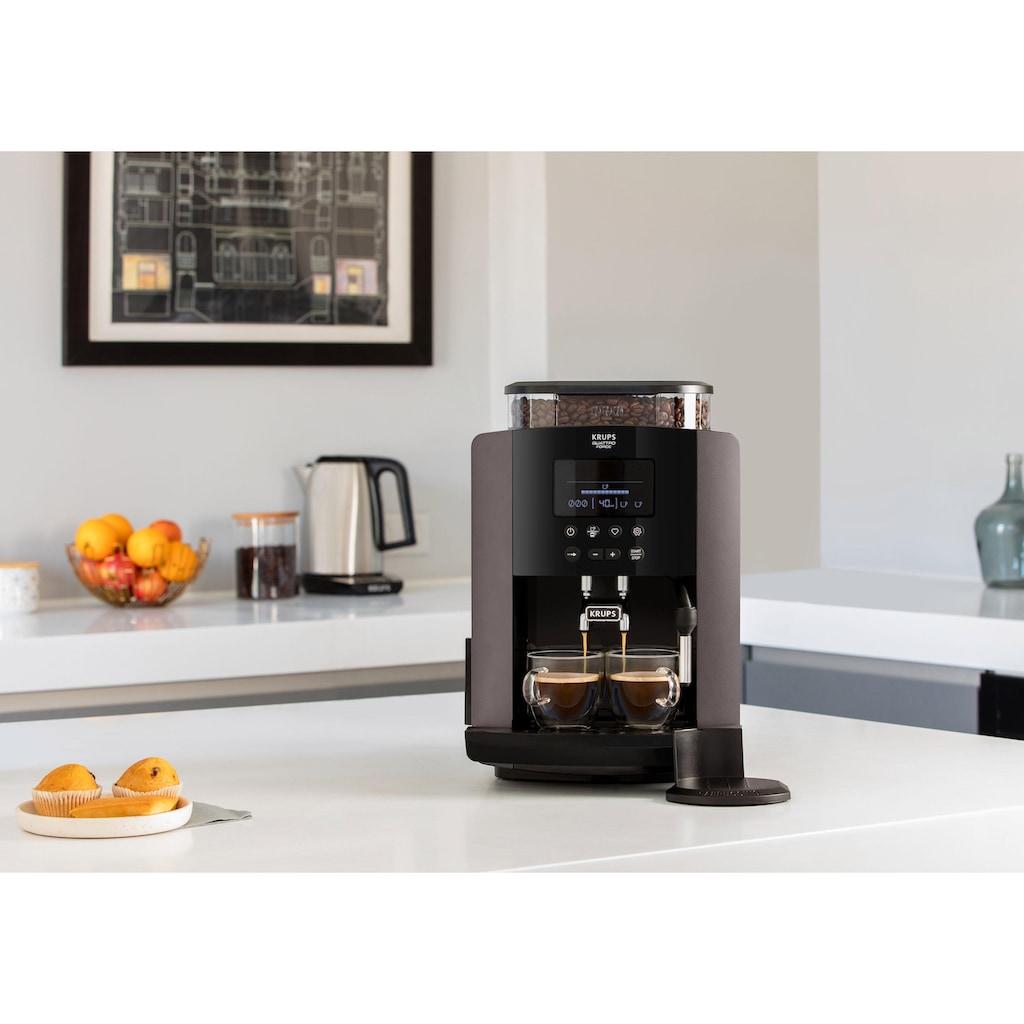 Krups Kaffeevollautomat »EA819E Arabica Latte Quattro Force«