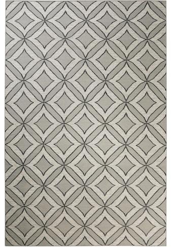 Esprit Wollteppich »Kian Kelim«, rechteckig, 4 mm Höhe, reine Wolle, Wohnzimmer kaufen