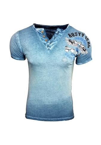 Rusty Neal T-Shirt im körpernahen Schnitt kaufen