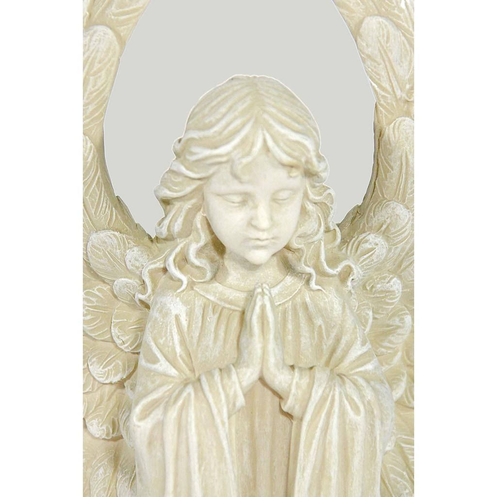Casa Collection by Jänig Engelfigur »Engel mit großen Flügeln, klein, kniend, betend, H 18 cm«
