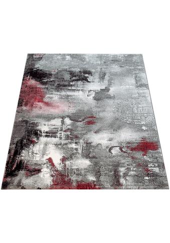 Paco Home Teppich »Canvas 754«, rechteckig, 16 mm Höhe, Kurzflor mit Arizona Leinwand... kaufen