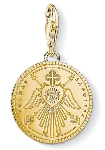 THOMAS SABO Charm - Einhänger »Coin gold, 1705 - 413 - 39« kaufen