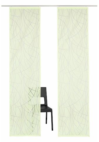 Schiebegardine, »Baruni«, my home Selection, Klettband 2 Stück kaufen