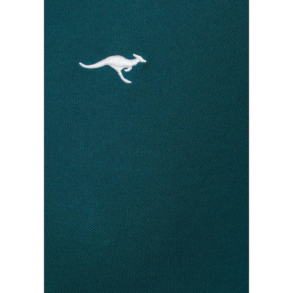 KangaROOS Poloshirt, Große Größen