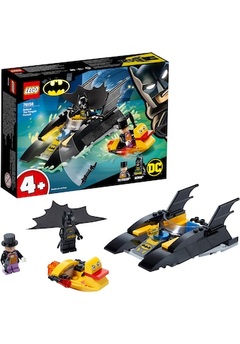 LEGO® Konstruktionsspielsteine »Verfolgung des Pinguins – mit dem Batboat (76158),... kaufen