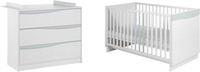 Geuther Babyzimmer Set 2 Tlg Wave Pastell Bequem Auf Raten