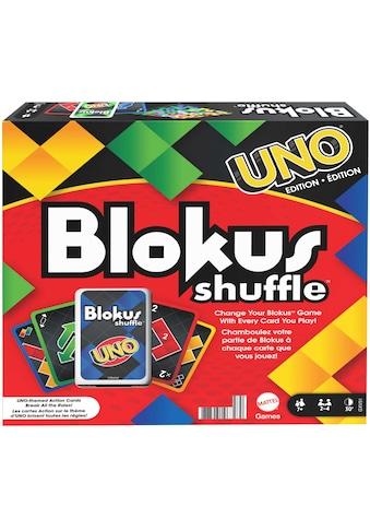 Mattel games Spiel »Blokus Shuffle, UNO Edition« kaufen