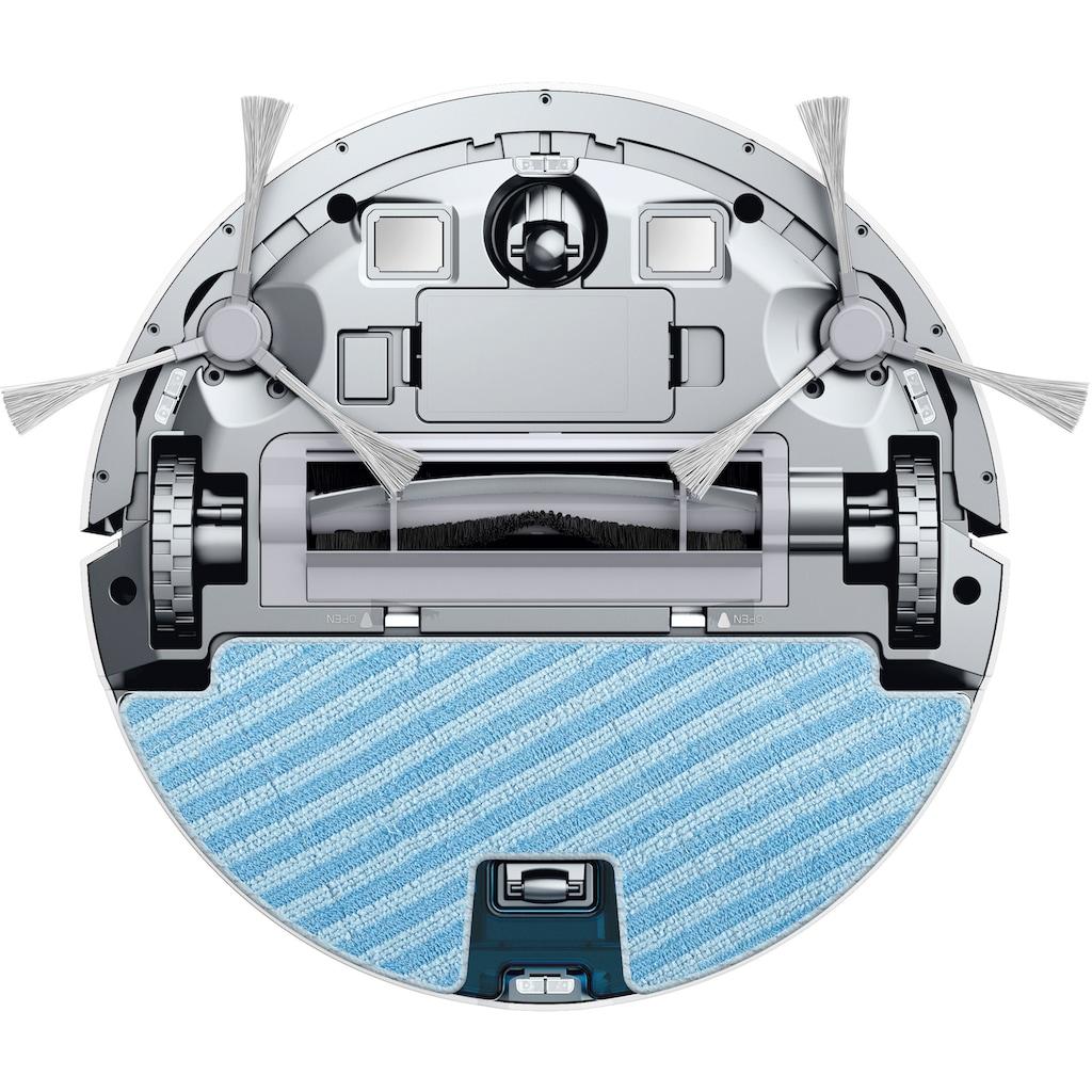 Rowenta Nass-Trocken-Saugroboter »RR7747 X-Plorer Serie 80; WLAN-Konnektivität, weiß«, Allergy Connect; Sprachsteuerung; 120m²; 2 in 1 Reinigung; Saugen & Wischen