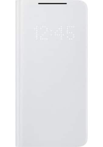Samsung Smartphone-Hülle »Smart LED View Cover EF-NG991 für S21«, 15,8 cm (6,2 Zoll) kaufen