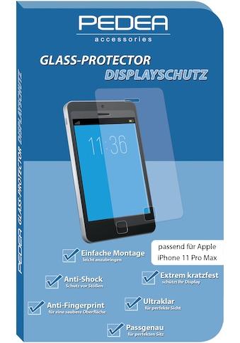 PEDEA Schutzglas »Display - Schutzglas für Apple iPhone 11 Pro Max« kaufen