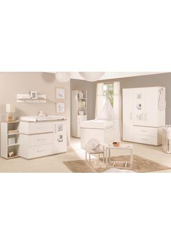 roba® Babyzimmer-Komplettset »Moritz«, (Set, 3 St.), breit; mit Kinderbett, Schrank... kaufen