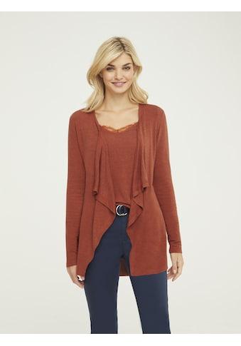 Shirtjacke mit Effektgarn kaufen