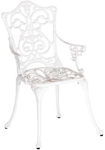 MERXX Gartensessel »Lugano«, Aluminium, weiß kaufen