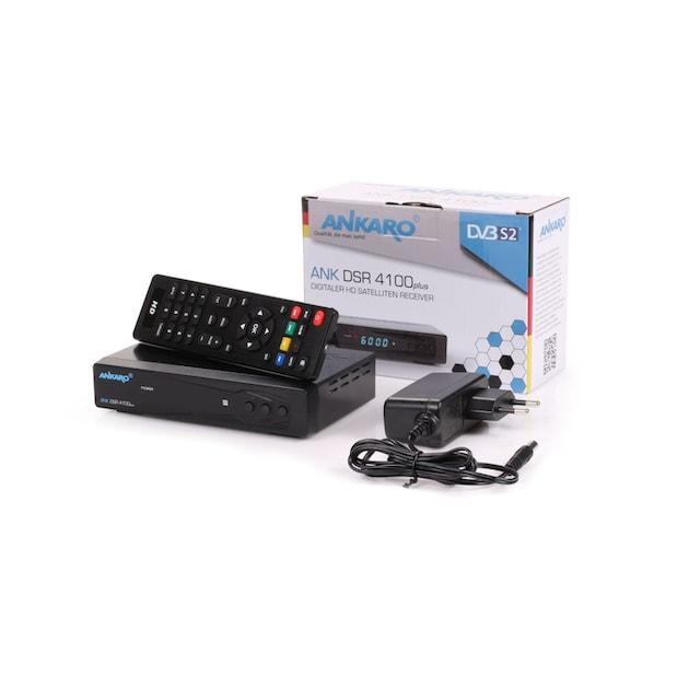 Ankaro »ANK DSR 4100plus Full HD« SAT-Receiver