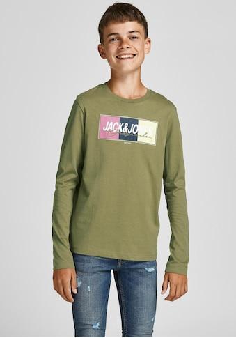 Jack & Jones Junior Langarmshirt kaufen