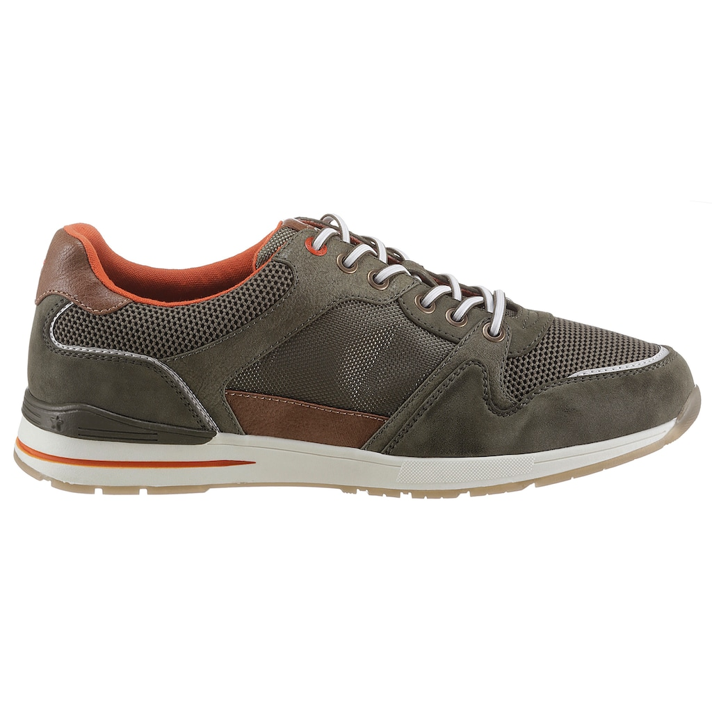 Mustang Shoes Sneaker, im Materialmix