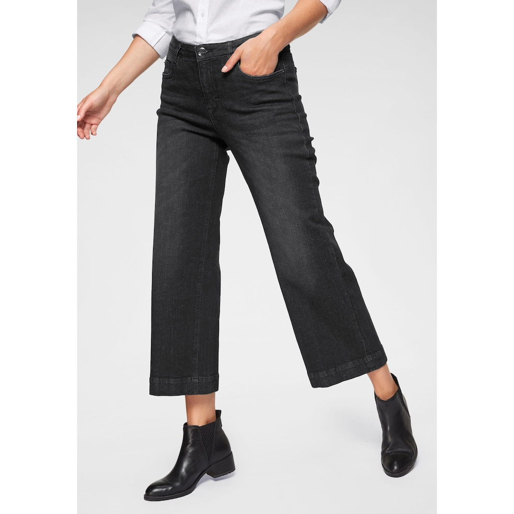 Aniston CASUAL 7/8-Jeans, in Used-Waschung