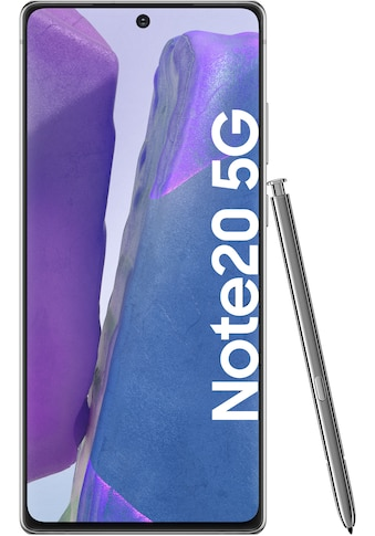 Samsung Galaxy Note20 5G Smartphone (16,95 cm / 6,7 Zoll, 256 GB, 64 MP Kamera) kaufen
