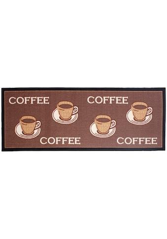Andiamo Küchenläufer »Coffee«, rechteckig, 5 mm Höhe, mit Schriftzug, Küche kaufen