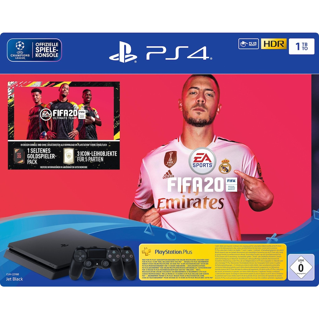 PlayStation 4 Konsole »PS4 Slim«, inkl. Fifa20