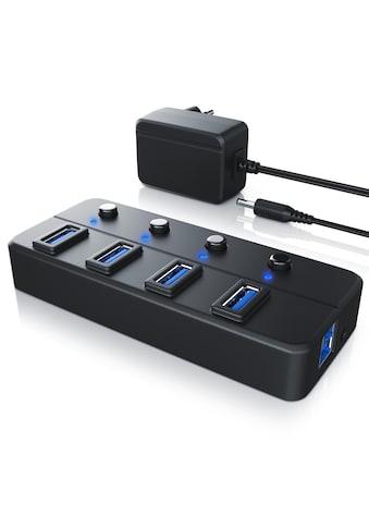 Primewire 4 - Port USB 3.0 Hub mit separater Port Aktivierung »mit Steckernetzteil / bis zu 5 Gb/s« kaufen