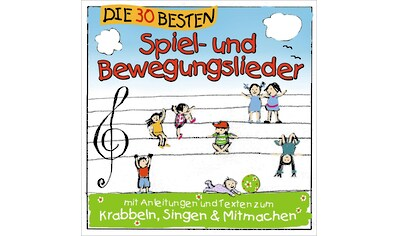 Musik - CD 30 BESTEN SPIEL -  UND BEWEG / SOMMERLAND,SIMONE & GLUECK, (1 CD) kaufen