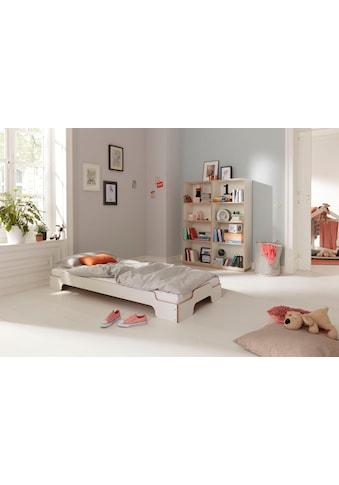 Müller SMALL LIVING Stapelbett »STAPELLIEGE Klassik ( eine Liege)«, Gestellhöhe: 23,5 cm, ausgezeichnet mit dem German Design Award - 2019 kaufen
