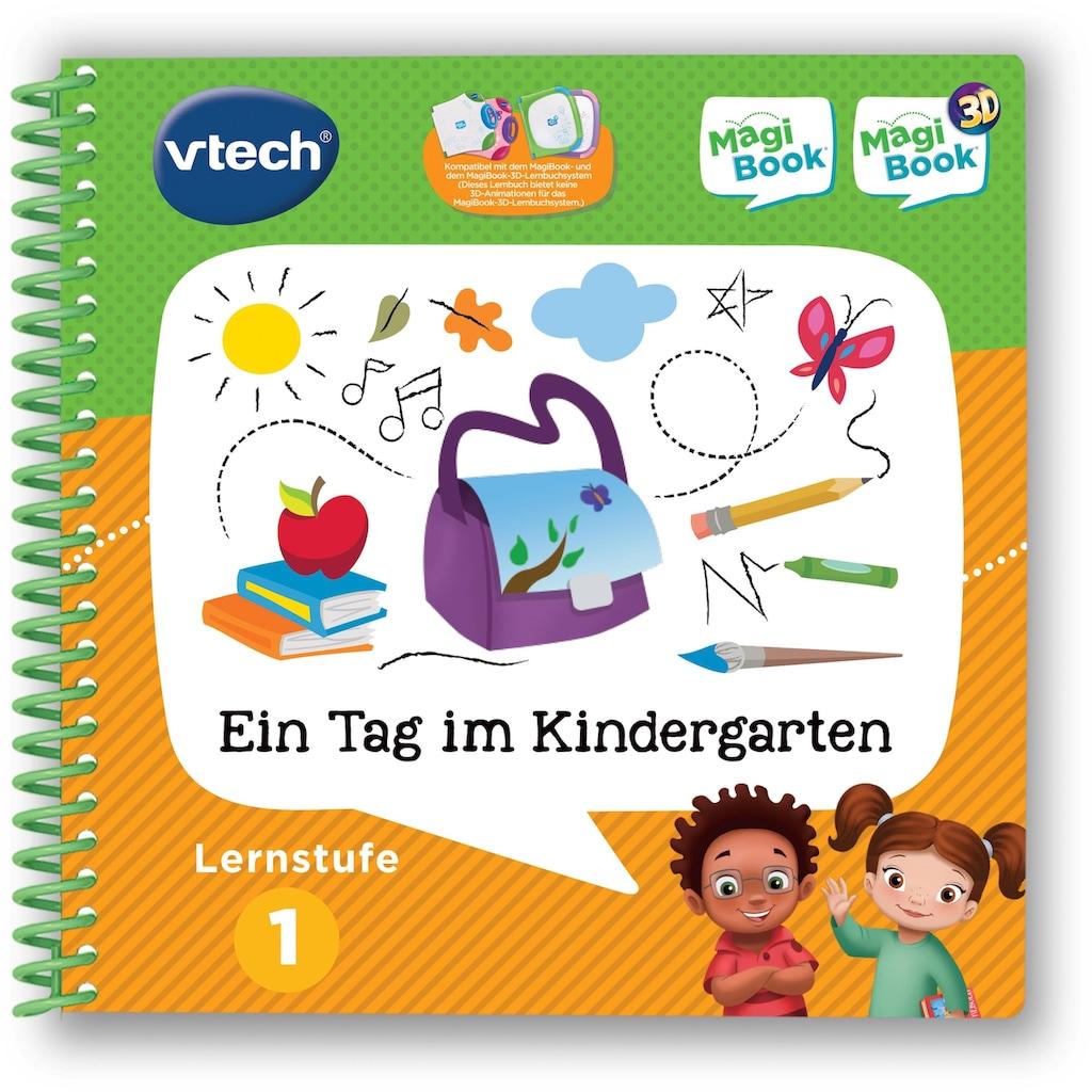 Vtech® Buch »MagiBook Lernstufe 1 - Ein Tag im Kindergarten«
